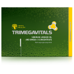 Trimegavitals. Siberian linseed oil and omega-3 concentrate